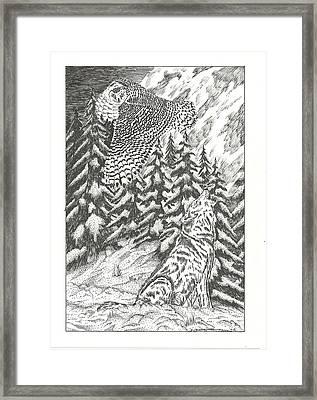 Spirits Of The Moon Framed Print by Thomas  Ferguson