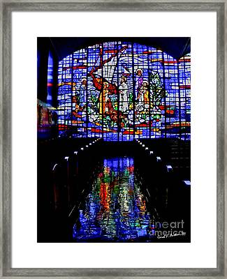 House Of God - Spiritual Awakening Framed Print by Carol F Austin