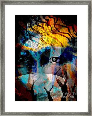Spiritual Visitation Framed Print by Fania Simon