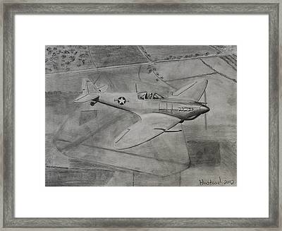 Spitfire Framed Print by Brian Hustead