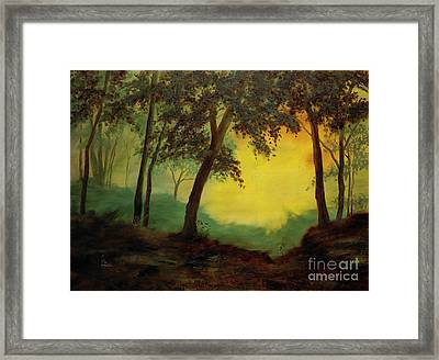 Splendid Solitude Framed Print by Vic  Mastis