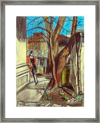 Spring Afternoon Framed Print by Mona Edulesco