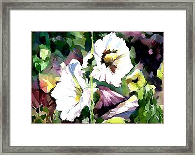 Spring Holly Framed Print by Mindy Newman