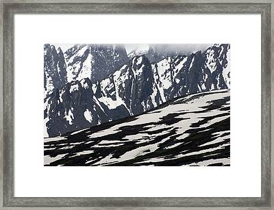 Spring In Alaska Mountains Framed Print by Michael S. Quinton