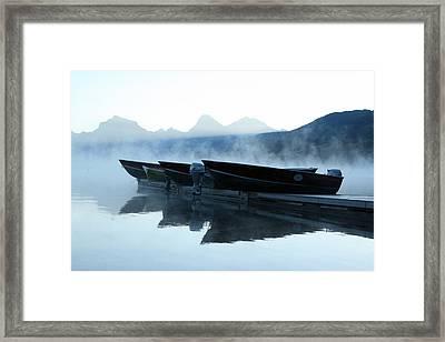 Spring Morning Framed Print by Larry Robinson