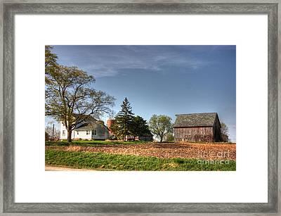 Spring Time On The Farm Framed Print by David Bearden