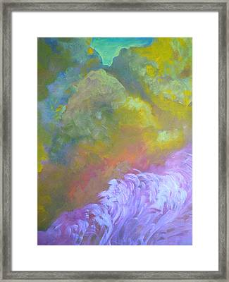 Springscape Framed Print by George  Page
