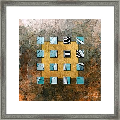 Square Ambience Framed Print by VIAINA Visual Artist