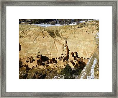 Square Tower In Solstice Season Framed Print by Feva  Fotos