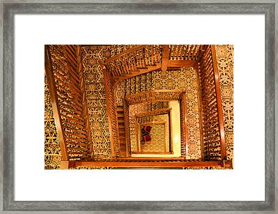Squiral Framed Print by Kristin Elmquist