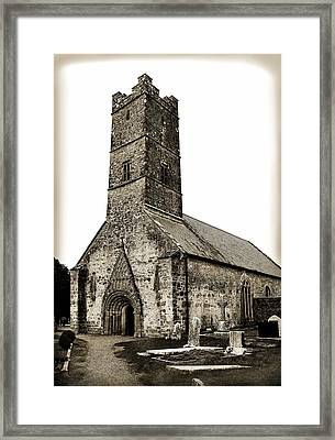 St Brendans Cathedral Framed Print by Terence Davis