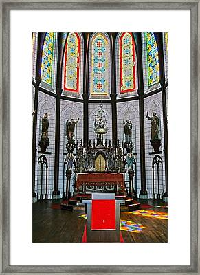 St. Francis Xavier Cathedral  Framed Print by Juergen Weiss