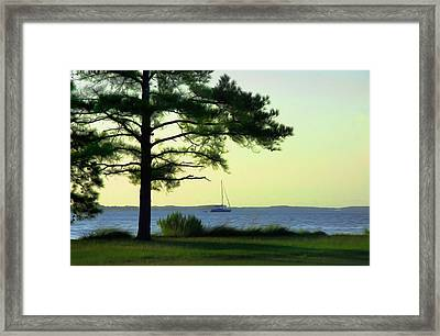 St. George's Island Framed Print by Bill Cannon