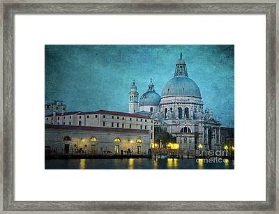 St Maria Della Salute From St Mark's  Framed Print by Marion Galt