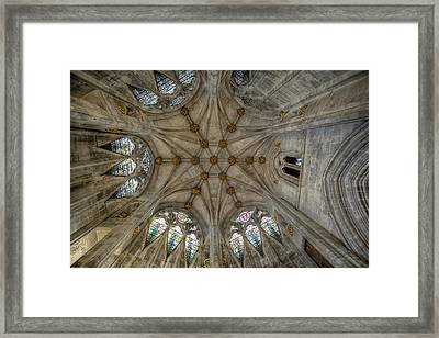 St Mary's Ceiling Framed Print by Adrian Evans