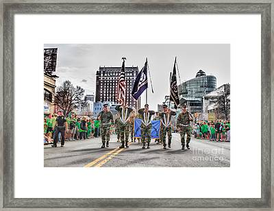 St. Patty's Day Buffalo 2 Framed Print by Chuck Alaimo