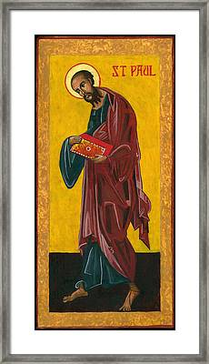 St Paul Framed Print by Jennifer Richard-Morrow