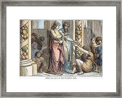 St Peter & St John Framed Print by Granger