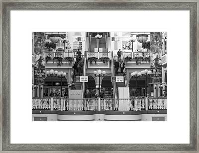 St. Stephens Green Shopping Centre Framed Print by Semmick Photo