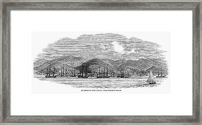 St. Thomas, 1844 Framed Print by Granger