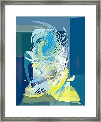 stage 2-Journey to Success Framed Print by Bryna La