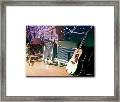 Stage Set Framed Print by Brian Wallace
