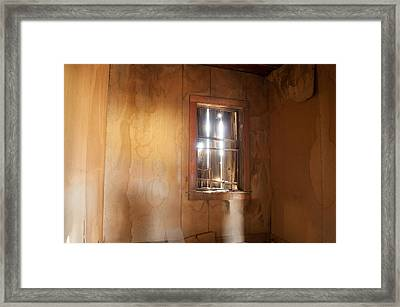 Stains Of Time Framed Print by Fran Riley