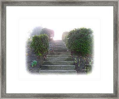 Stairway To A New Beginning Framed Print by Brian Wallace