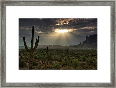 Stairway To Heaven  Framed Print by Saija  Lehtonen