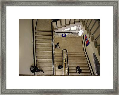 Stairwell Framed Print by Marilyn Wilson