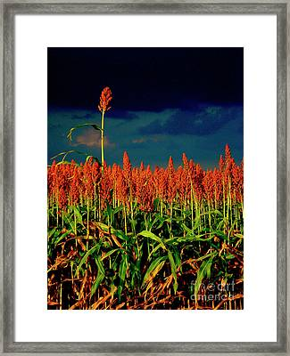 Stand Up And Sing Framed Print by Joe Jake Pratt