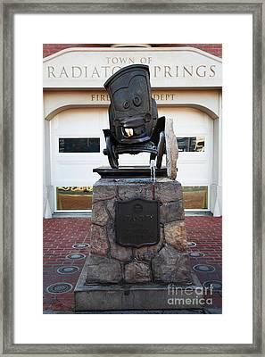 Stanley - Radiator Springs Cars Land - Disney California Adventure - Anaheim California - 5d17560 Framed Print by Wingsdomain Art and Photography