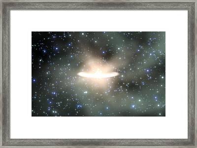 Star Birth Framed Print by Take 27 Ltd