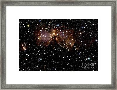 Star Forming Regions Framed Print by 2MASS project / NASA
