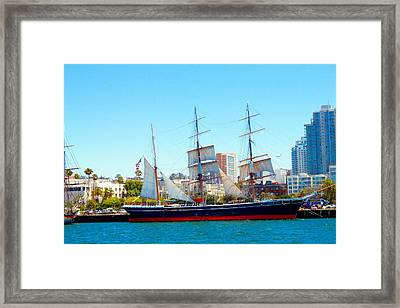 Star Of India Framed Print by Rom Galicia