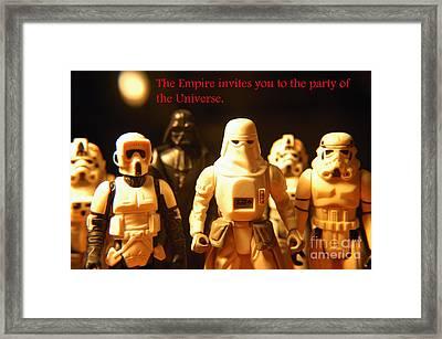 Star Wars Gang 2 Framed Print by Micah May