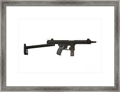 Star Z70b 9mm Submachine Gun Framed Print by Andrew Chittock