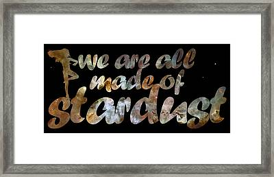 Stardust Framed Print by Nikki Marie Smith