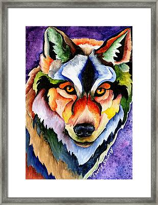 Stare Down Framed Print by Sherry Shipley