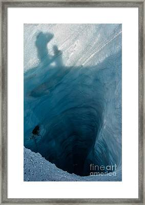 Staring Into The Abyss Framed Print by Royce Howland