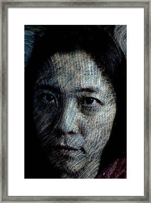 Starlight Gaze Framed Print by Christopher Gaston