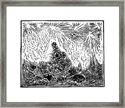 Starry Night Framed Print by Dariusz Gudowicz