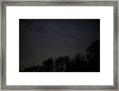 Starry Night Framed Print by Sara Hudock