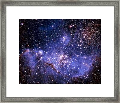 Stars And The Milky Way Framed Print by Don Hammond