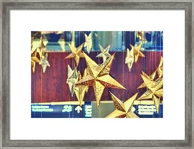Stars Framed Print by Charuhas Images