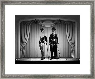 Stars On Stage Framed Print by Stefan Kuhn