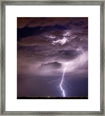 Starting High Framed Print by James BO  Insogna