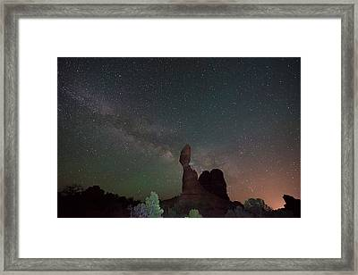 Stary Night Framed Print by Jeff Lewis