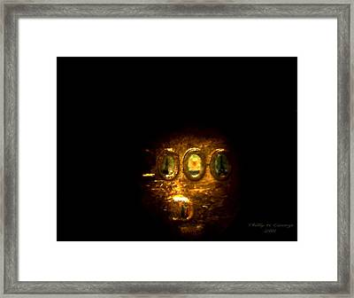 Statue Of Liberty Penny Photo 5 Framed Print by Phillip H George