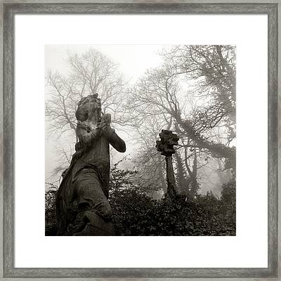 Statue Framed Print by Robert Dalton